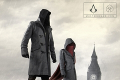 Assassins Creed Syndicate Musterbrand Jacob Evie Artwork