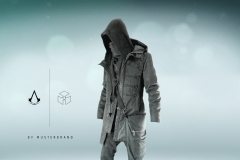 Assassins Creed Black Flag Musterbrand outfit