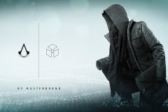 Assassins Creed Black Flag Musterbrand Banner